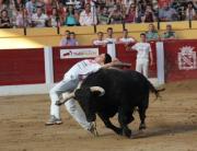 """El cortador madrileño """"Peta"""" ajustando al límite en la edición del pasado año"""
