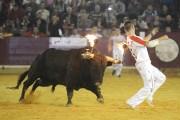 El concurso de recortadores con toros de fuego cerrará la feria y contará con los temidos toros de Palha.