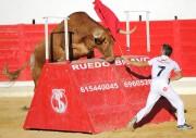Los toros de Arriazu nunca defraudan. Foto: Rafa Laguna.