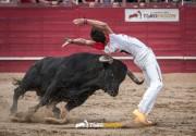 La Liga del Corte Puro reunirá a los mejores cortadores de España. En la imagen, Roberto Vidal en la edición de 2015.