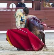 Javier Marín en su presentación en Las Ventas. Foto cedida.