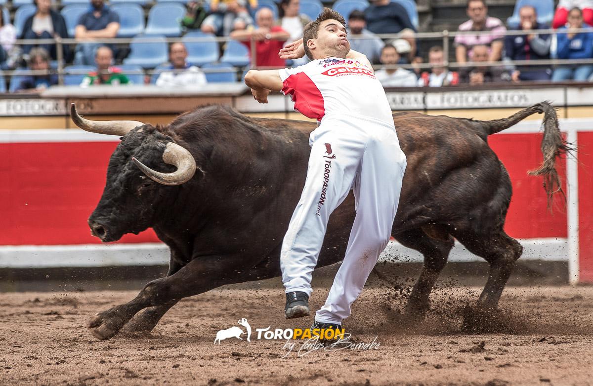 El turolense Ángel Pitarque está cuajando una excelente temporada.