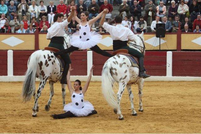 Elegancia y espectáculo a caballo.