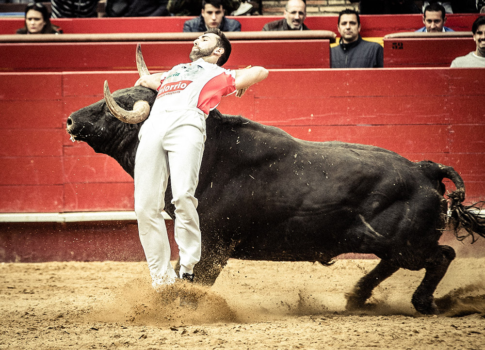 El Campeonato de España es la competición de recortadores más importante del mundo.